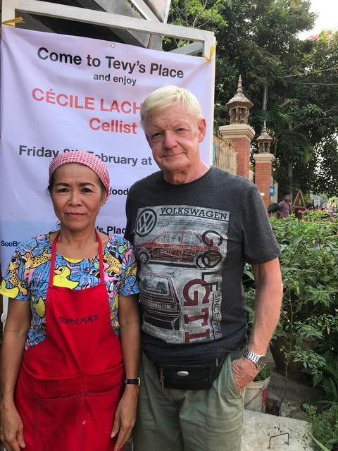 Cecil and Tevy Tevy's Place Siem Reap.