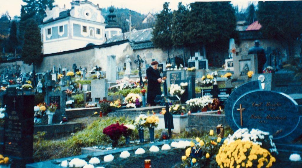 Cemetery Banska Stiavnica Slovakia
