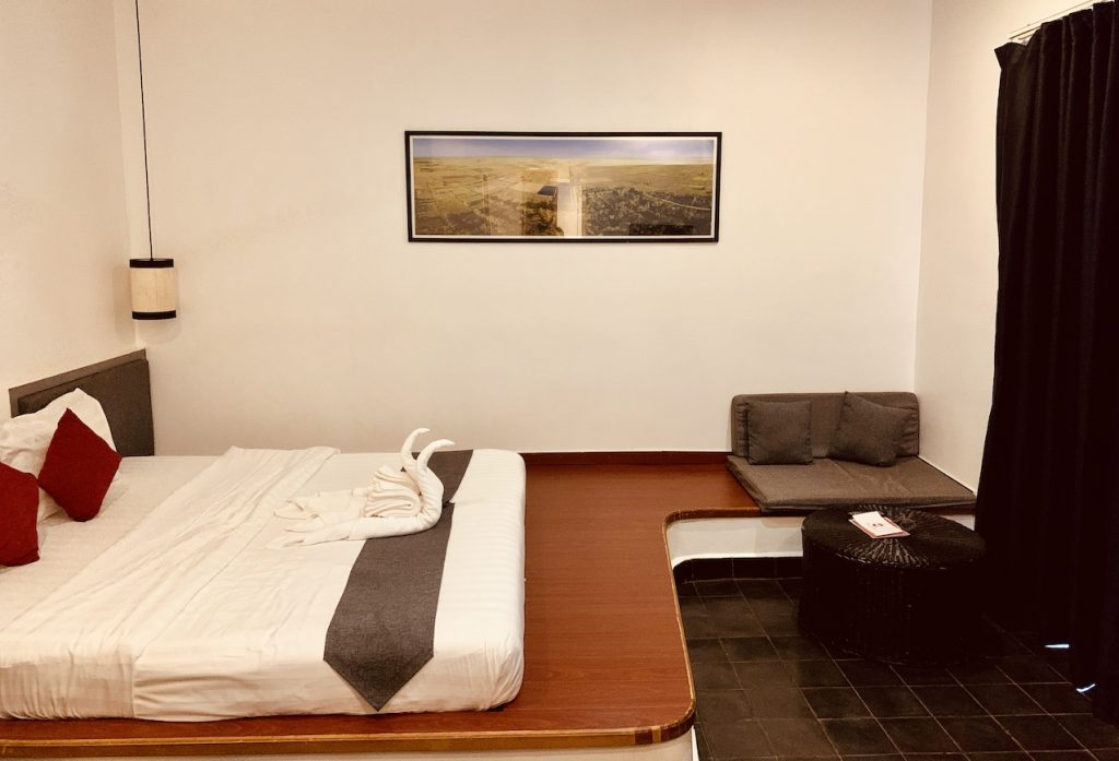Double bedroom Apsara Greenland Boutique Siem Reap.