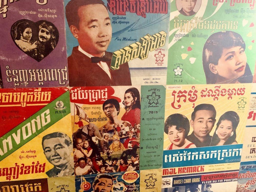 Khmer pop art Little Red Fox Siem Reap.