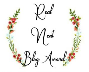 Real Neat Blog Award Leighton Travels.