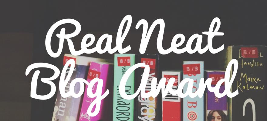 Real Neat Blog Award Leighton Travels.
