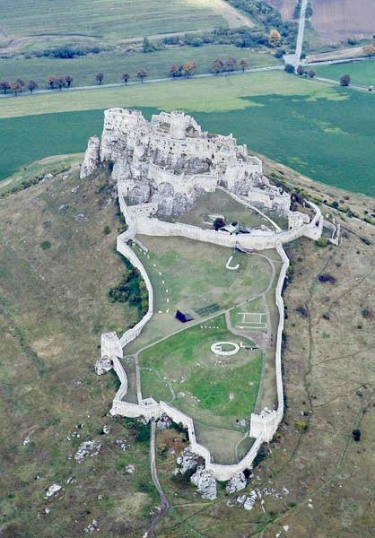 Spis Castle Slovakia.