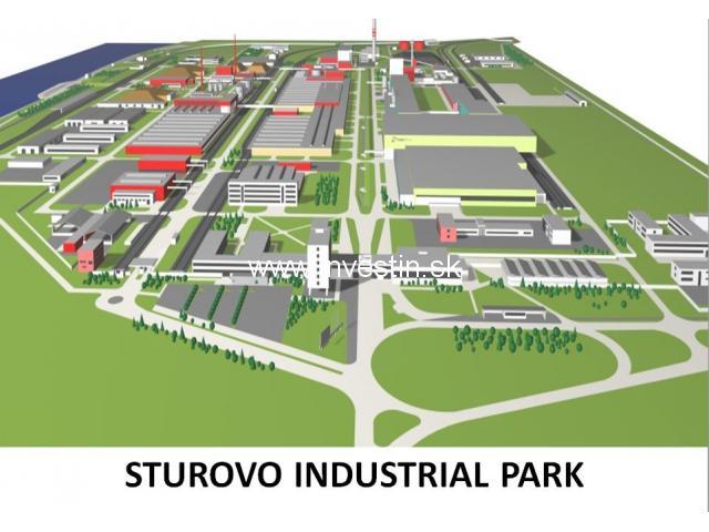 Sturovo Industrial Park Slovakia.