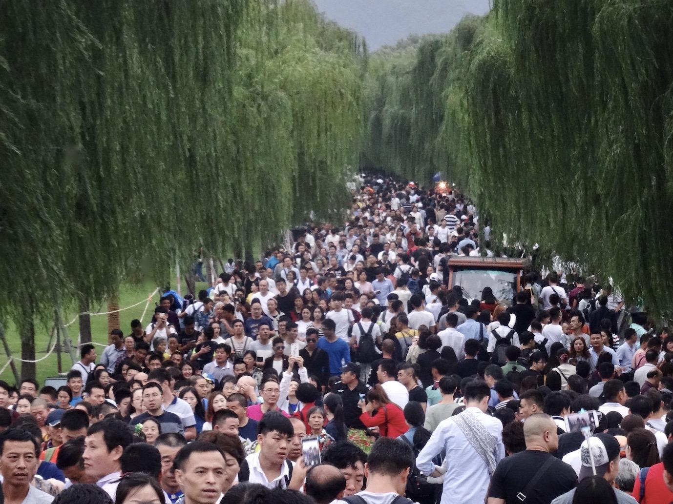 Su Causeway Golden Week Hangzhou