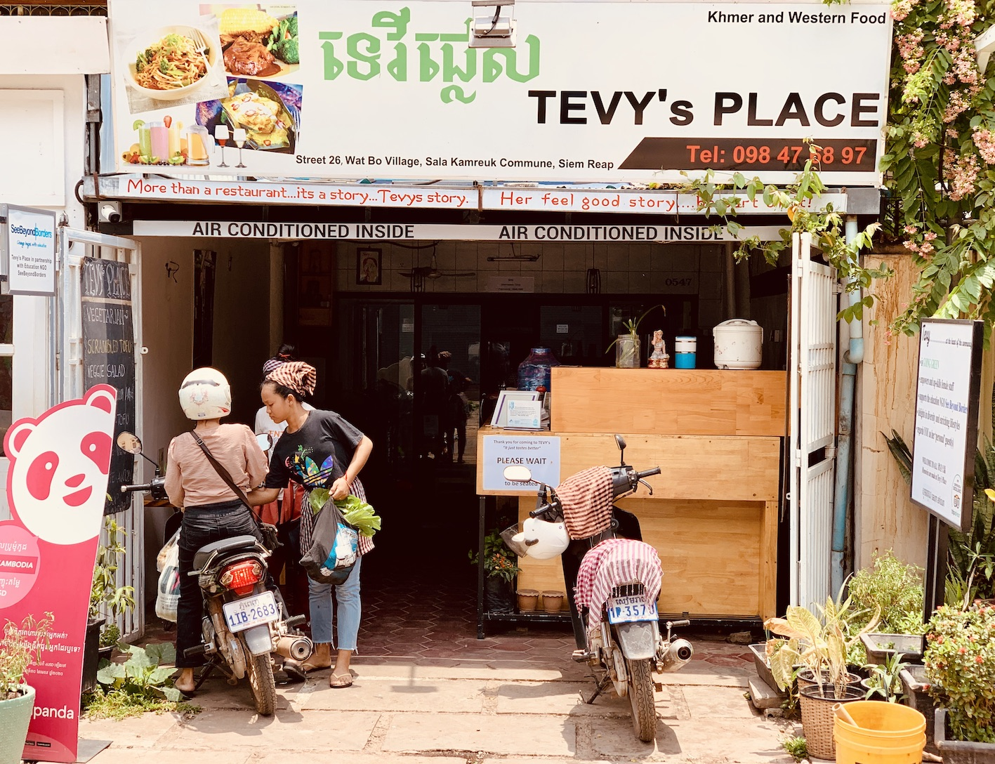 Tevy's Place Siem Reap.
