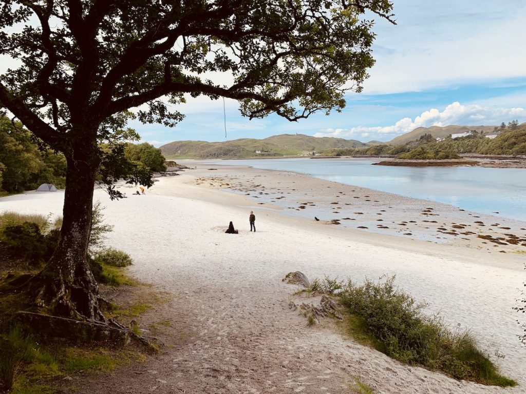 The Silver Sands of Morar.