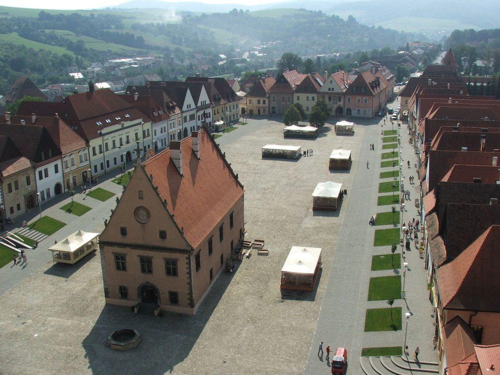 Town Hall Square Bardejov Slovakia