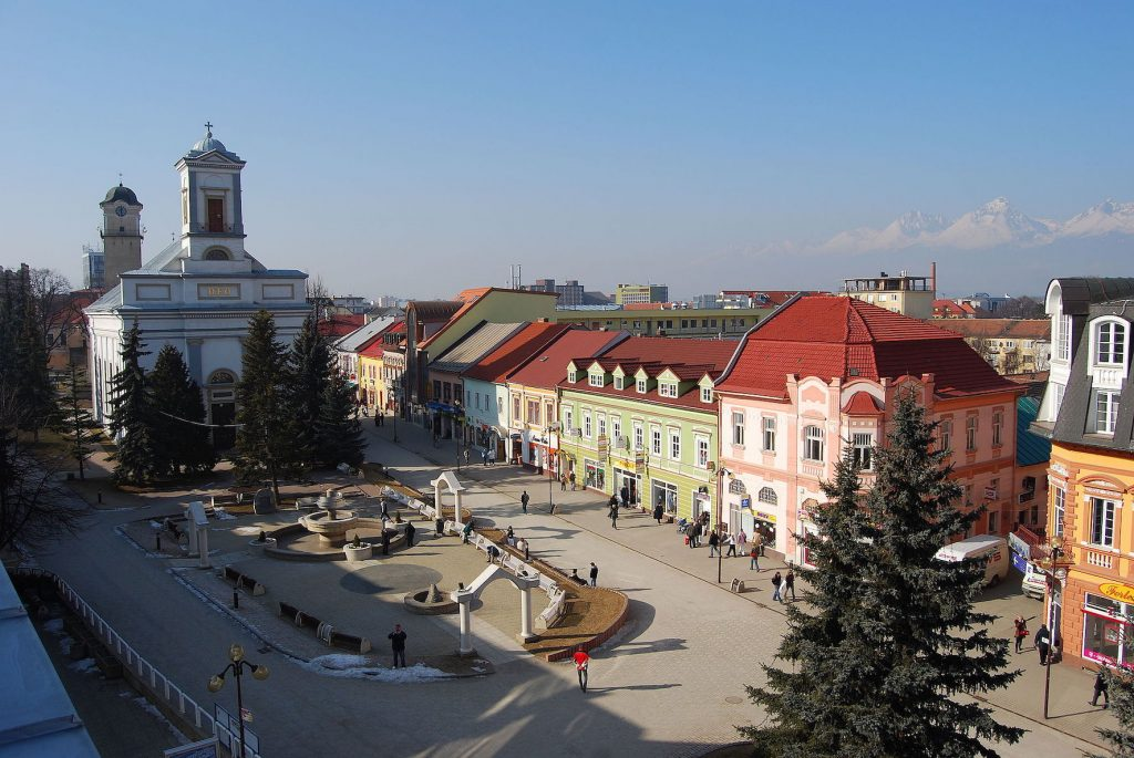 Visit Poprad Slovakia.