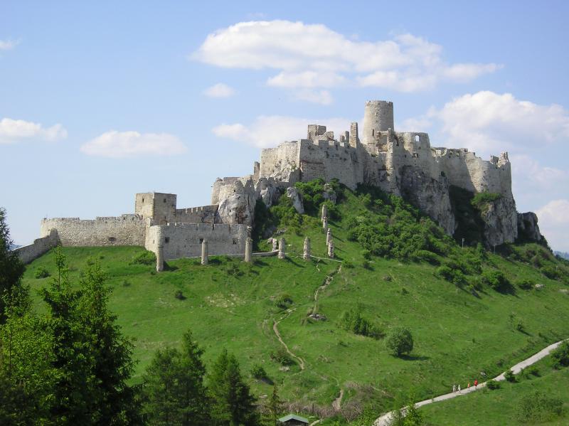 Visit Spis Castle Slovakia.