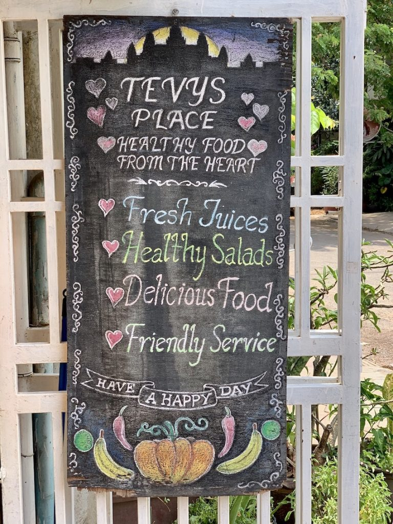 Welcome to Tevy's Place in Siem Reap.