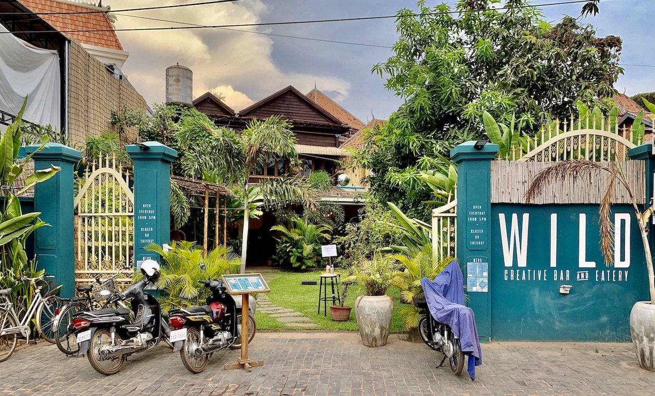 Wild Creative Bar and Eatery Siem Reap.