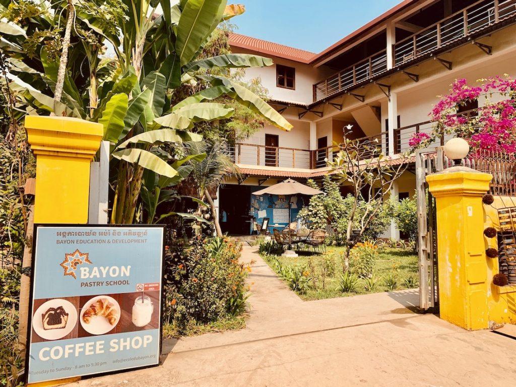 Bayon Pastry School Siem Reap.