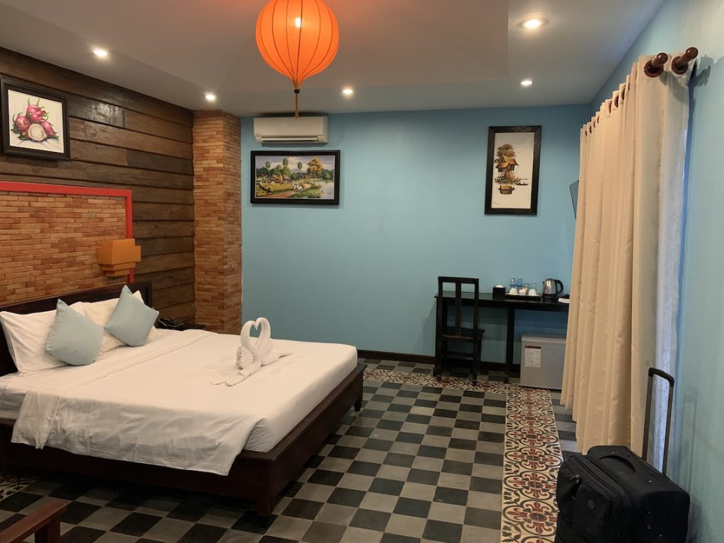 Double bedroom Suon Angkor Boutique Hotel Siem Reap.