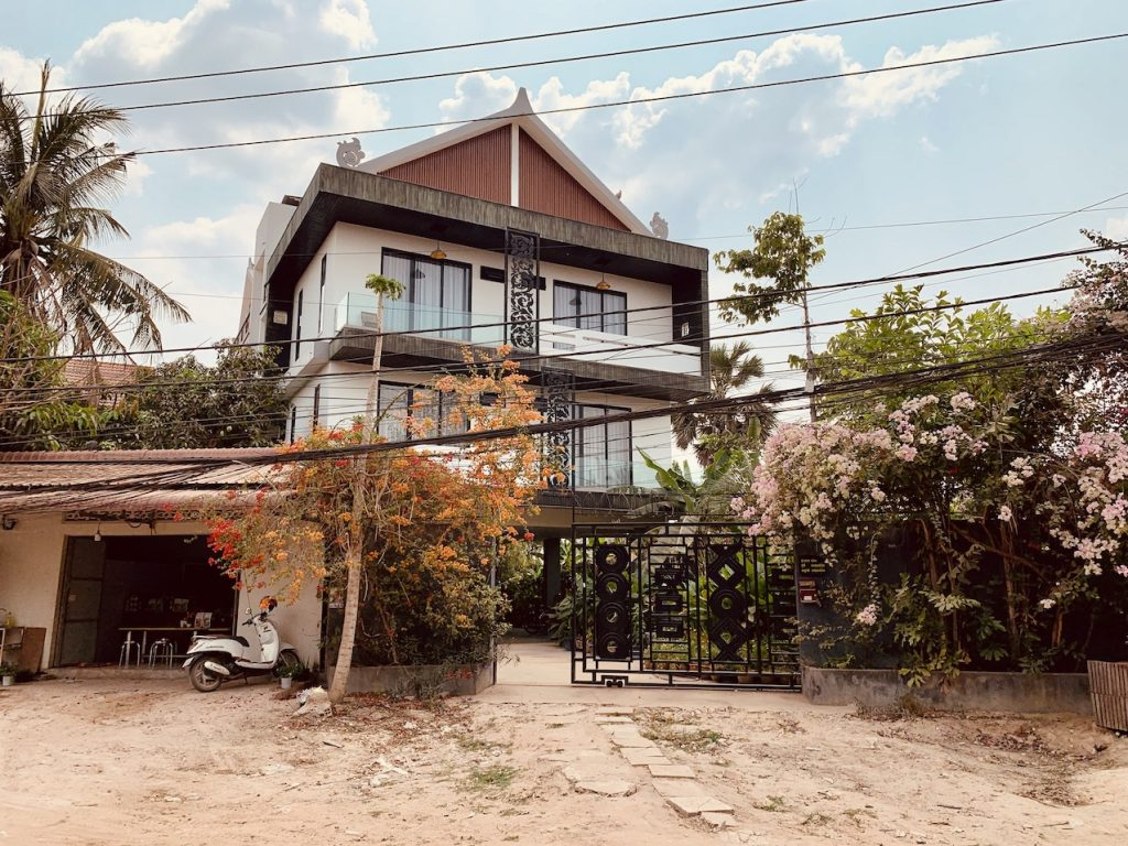 Foster Apartments Where to Stay Siem Reap.