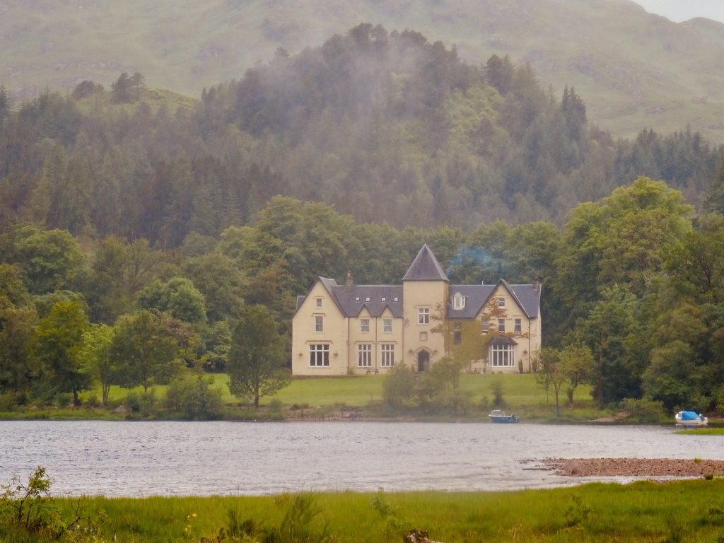 Glenfinnan House Hotel Scotland.