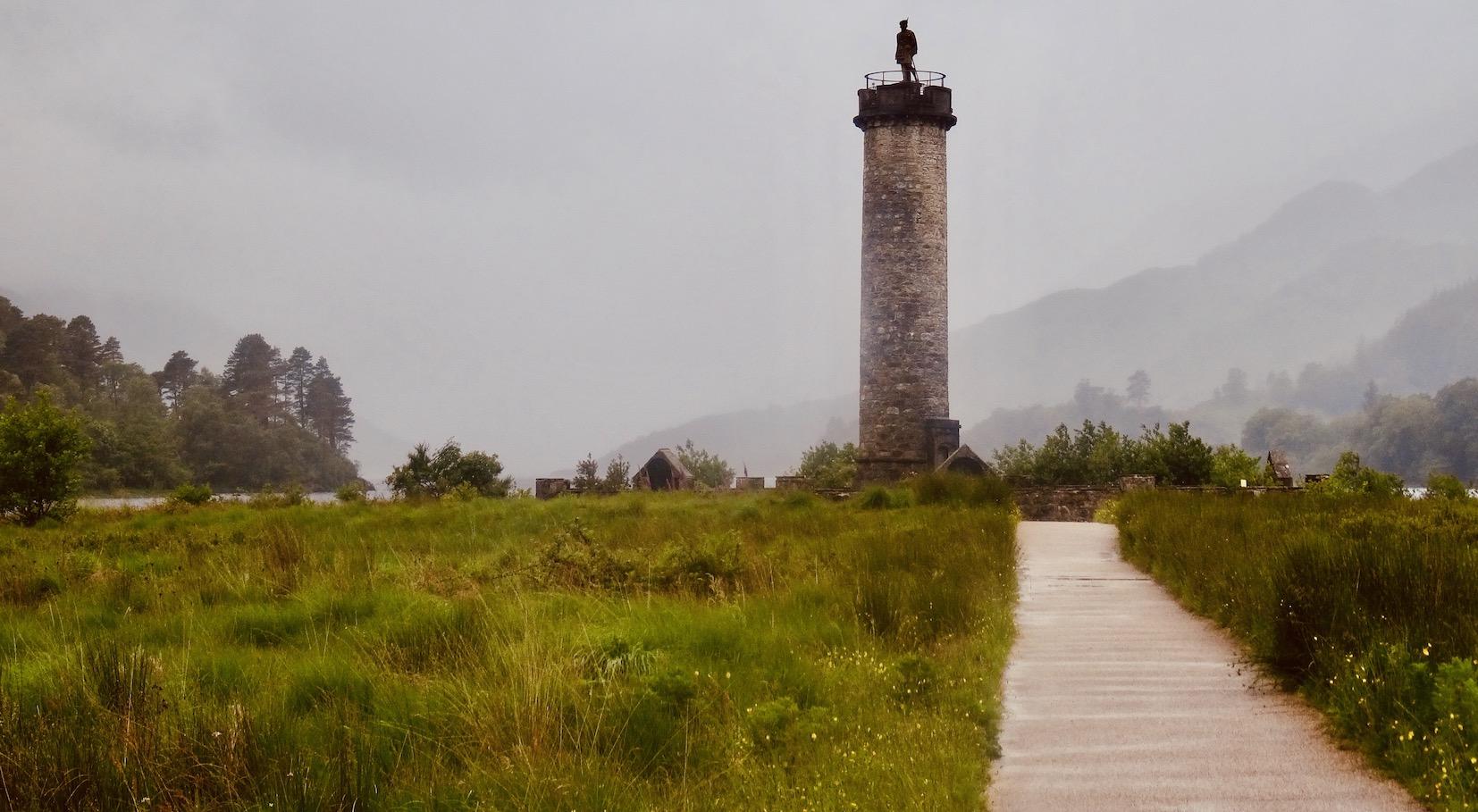 Glenfinnan Monument Scotland.