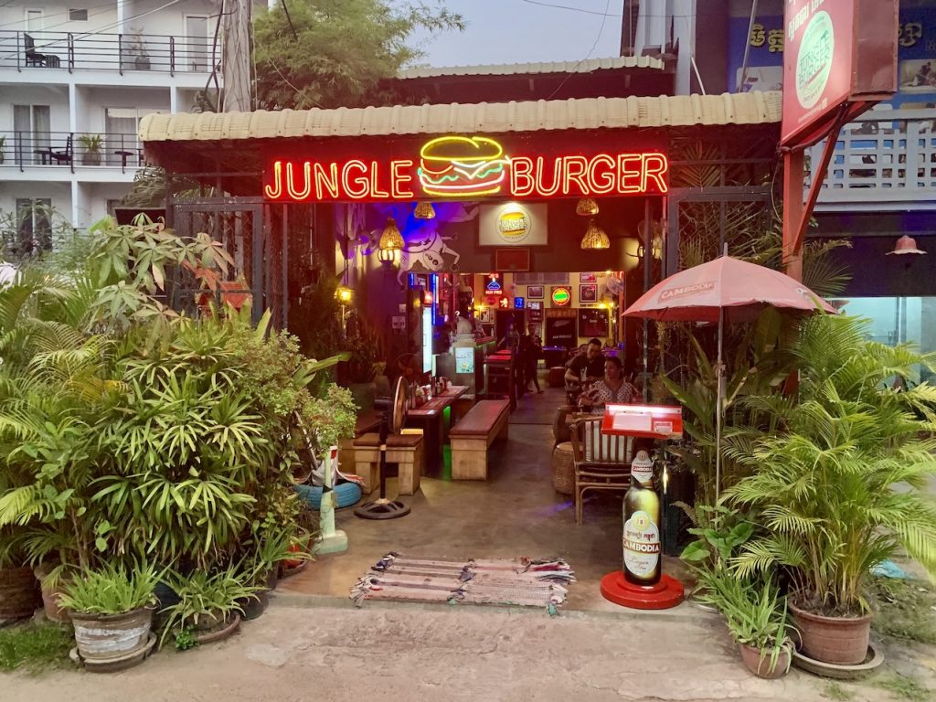 Jungle Burger Siem Reap.