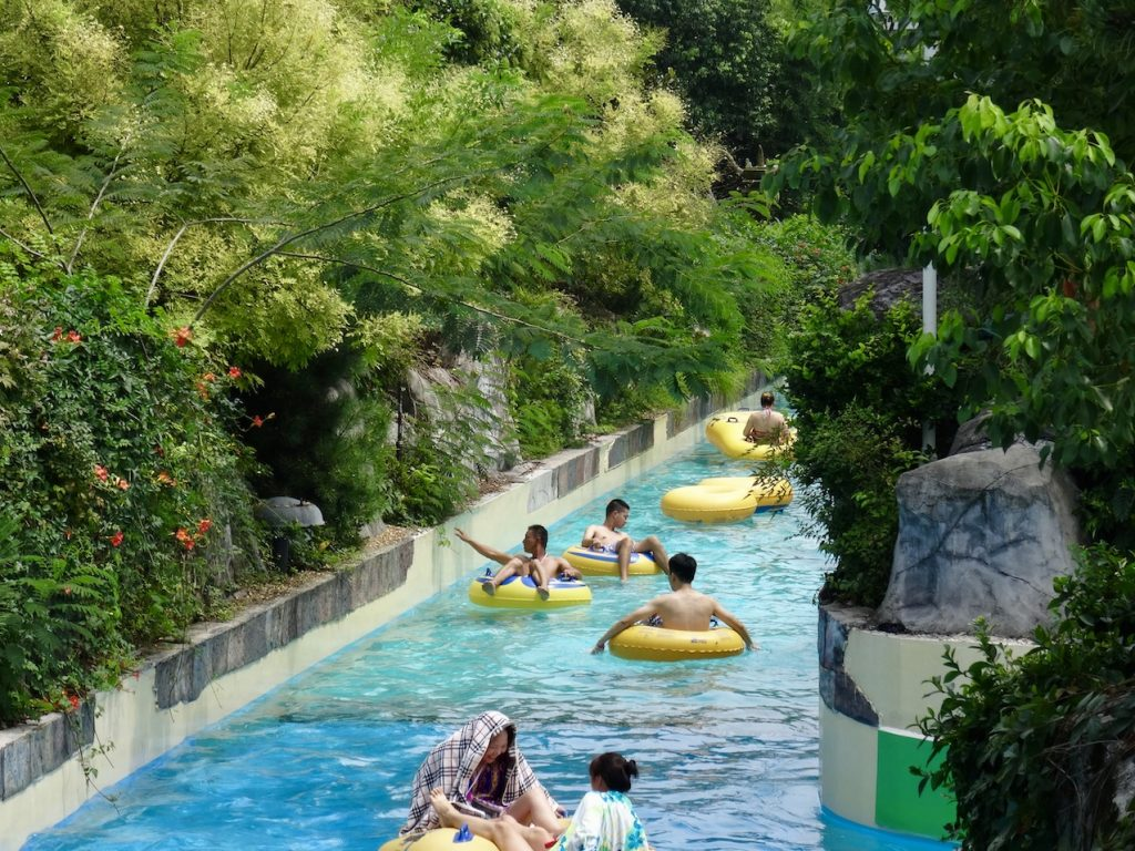 Lazy River Lishui Adventure Island Water World