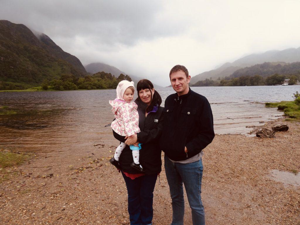 Loch Shiel Glenfinnan Scotland.