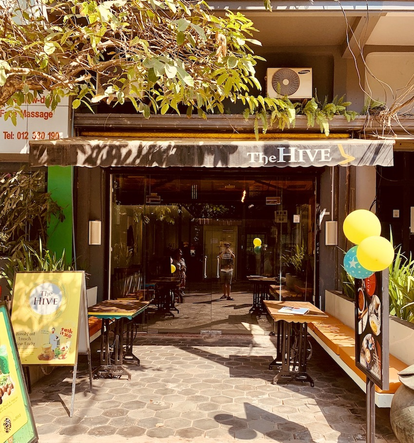 The Hive Cafe Siem Reap.