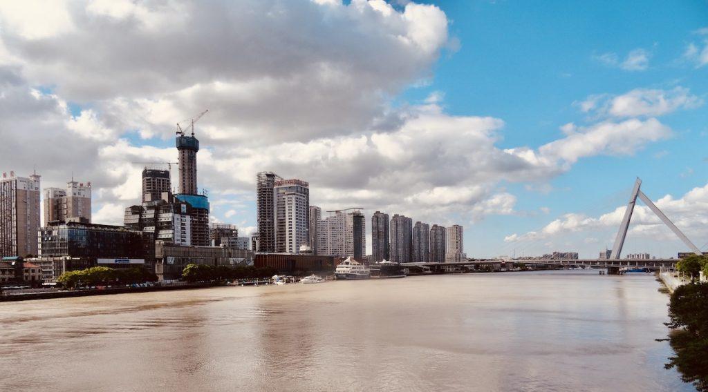 The Yong River Ningbo.