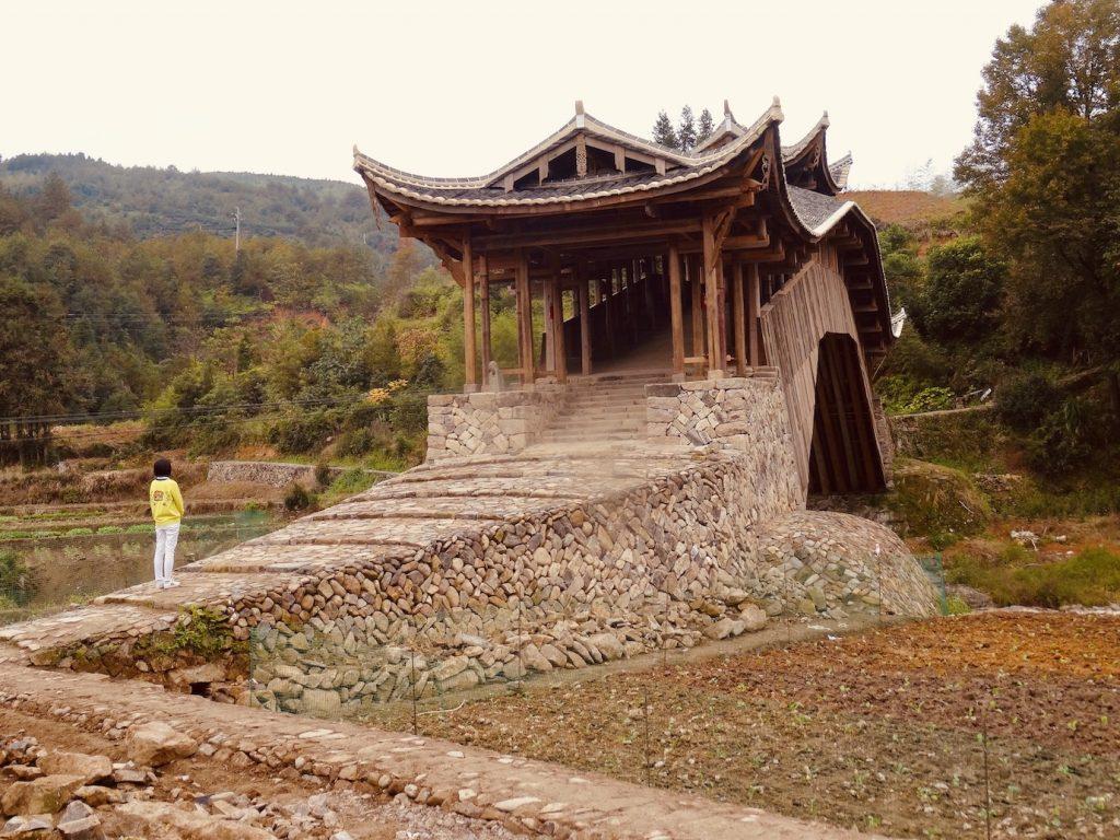 Wenxing Bridge Taishun County China.