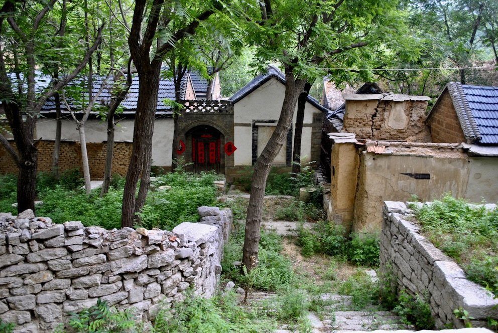 Zhujiayu Village China.