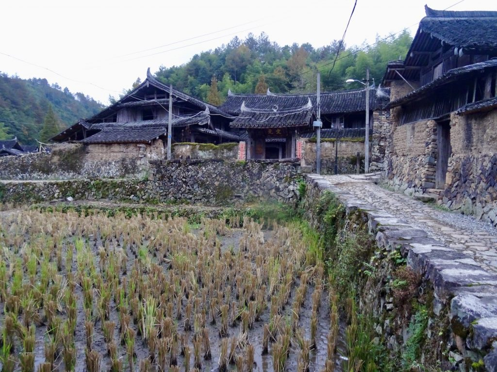 traditional village Taishun County China.