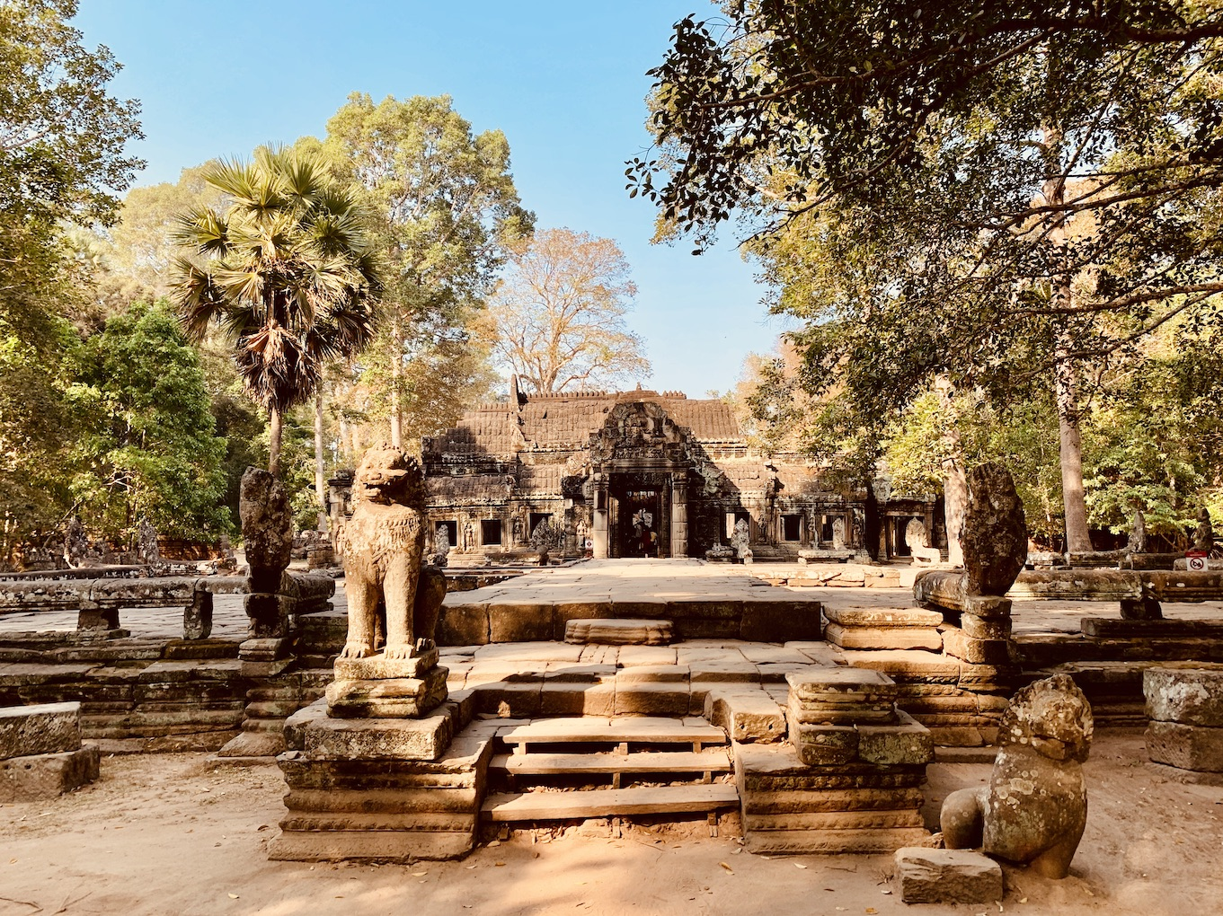 Banteay Kdei Temple Siem Reap.