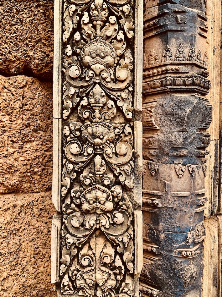 Banteay Srei Cambodia.