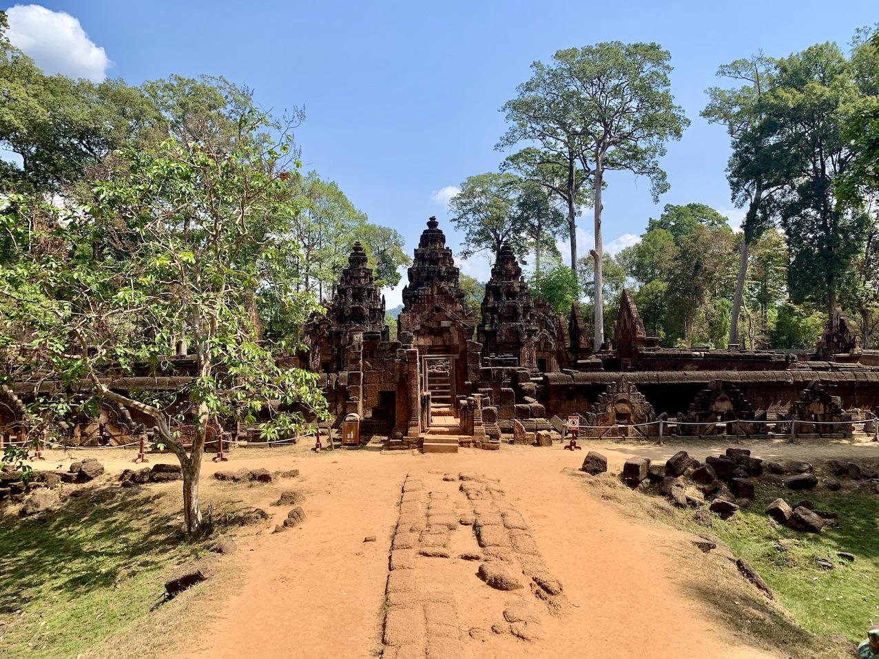 Banteay Srei Temple.
