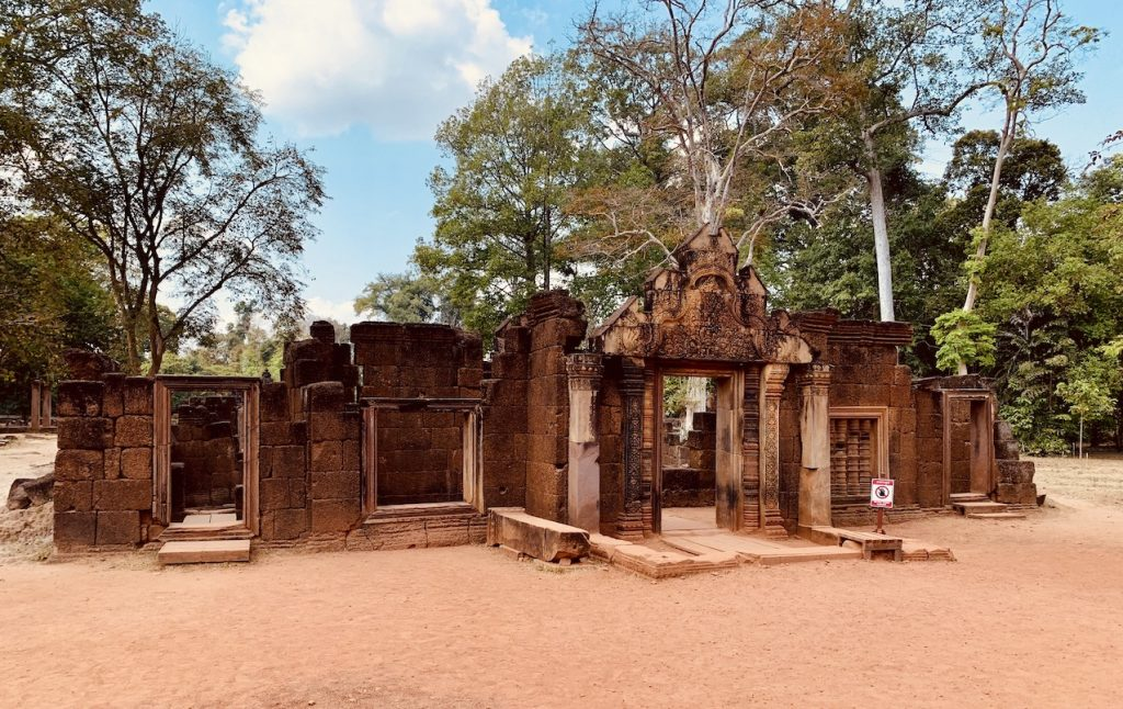 Banteay Srei Temple Cambodia.