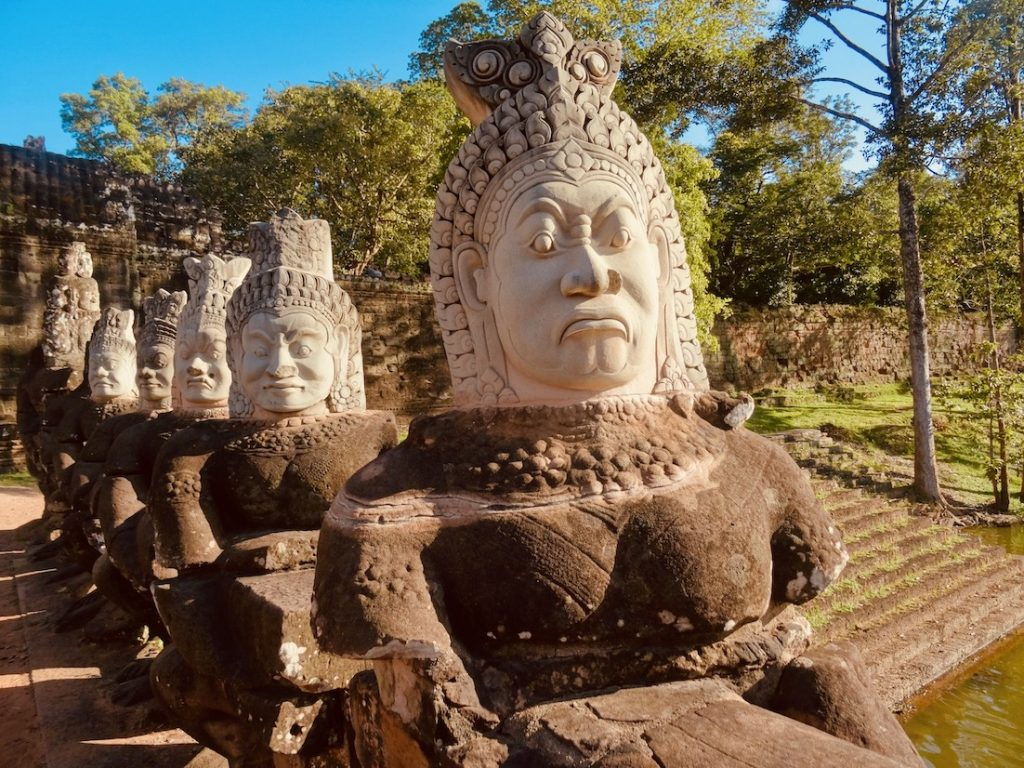 Bayon Temple Angkor Siem Reap Cambodia.