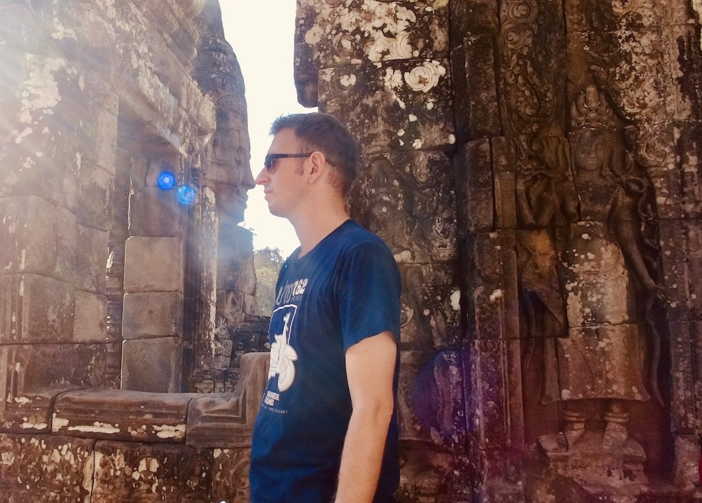 Bayon Temple Cambodia.
