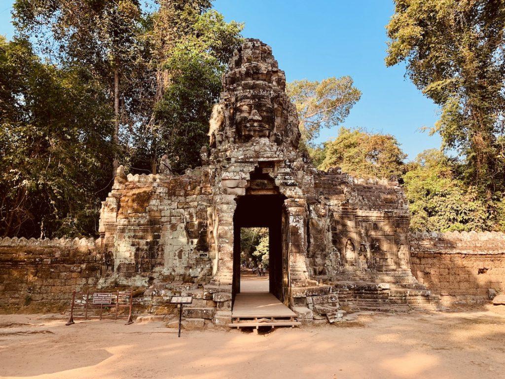 Entrance Banteay Kdei Temple.