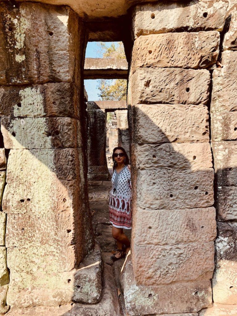 Exploring Banteay Kdei Temple Cambodia.