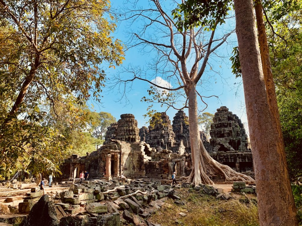 Inner enclosure Banteay Kdei Temple.
