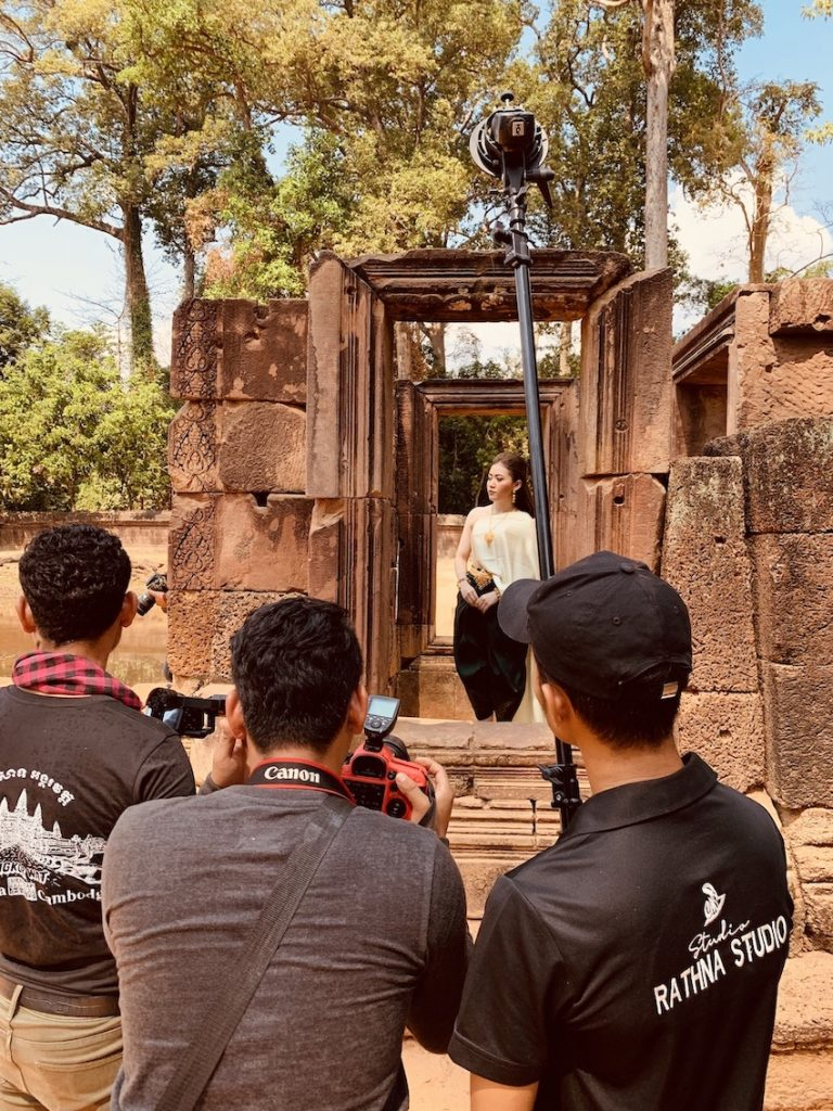 Photoshoot Banteay Srei Temple Cambodia