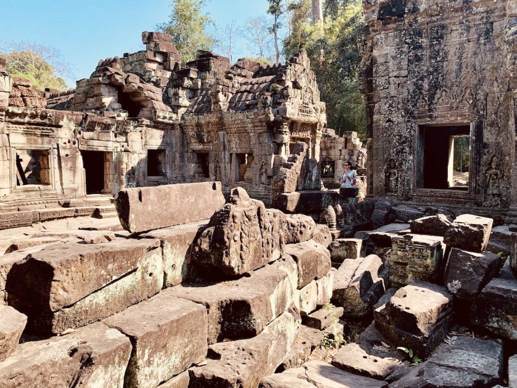 Preah Khan Temple Cambodia.