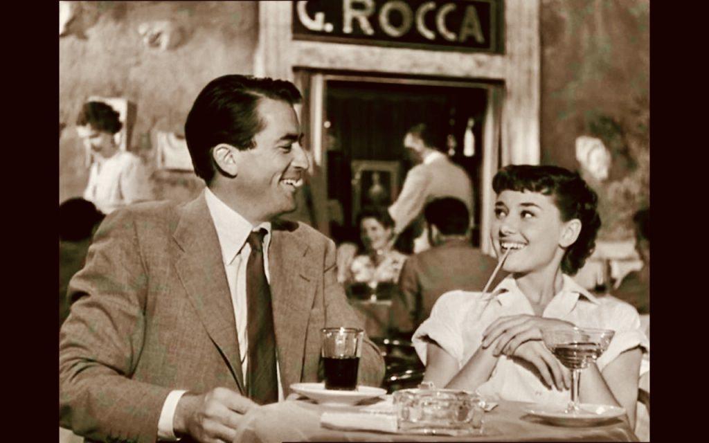 Roman Holiday Audrey Hepburn Gregory Peck.