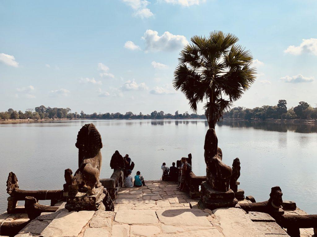Srah Srang Lake Cambodia.