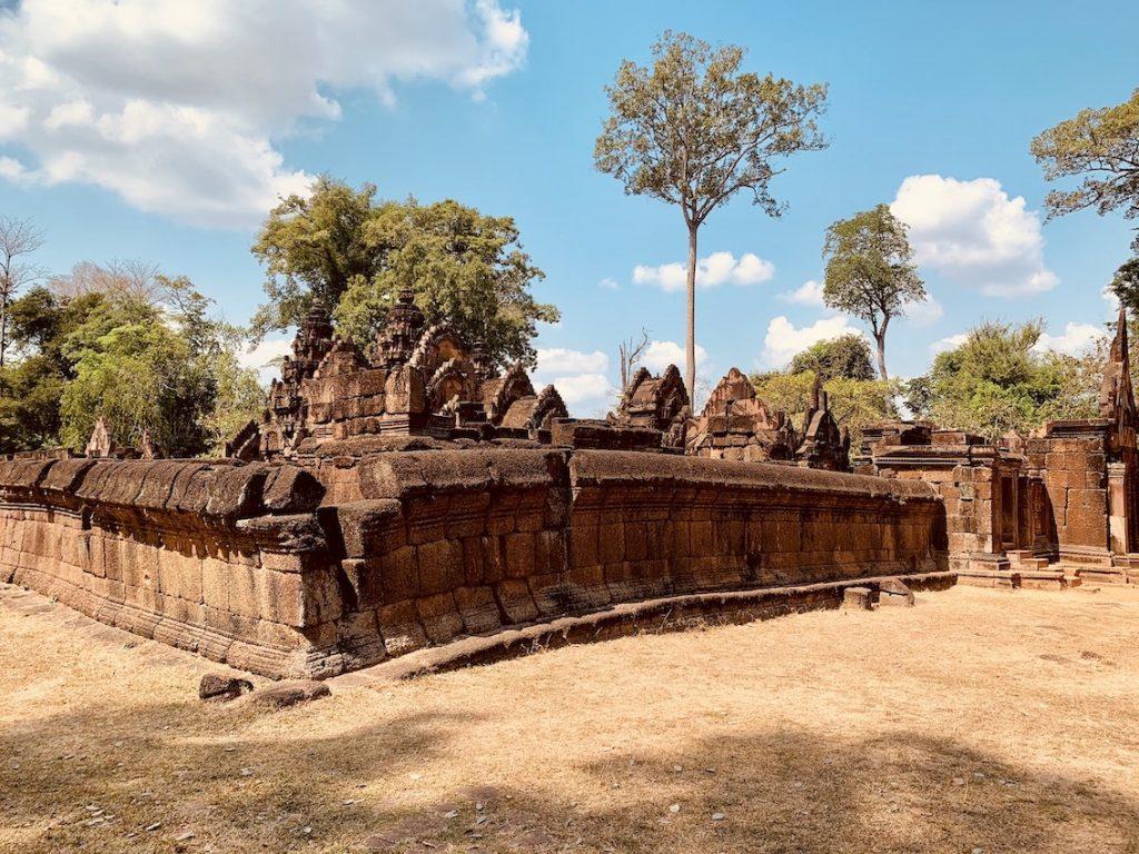 Visit Banteay Srei Temple.