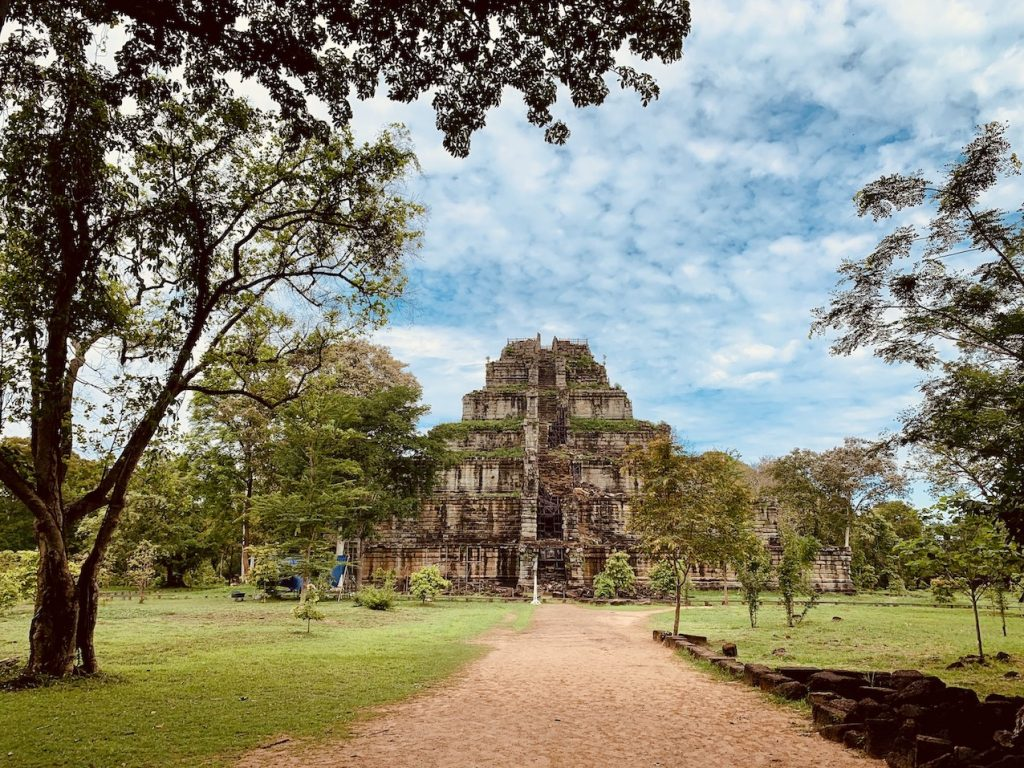 Visit The Koh Ker Temples.