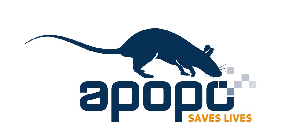 APOPO logo.