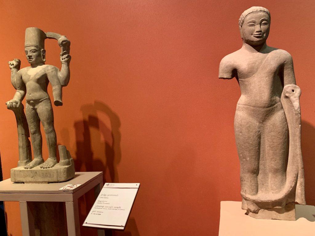 Ancient Phnom Da Statues Cambodia.