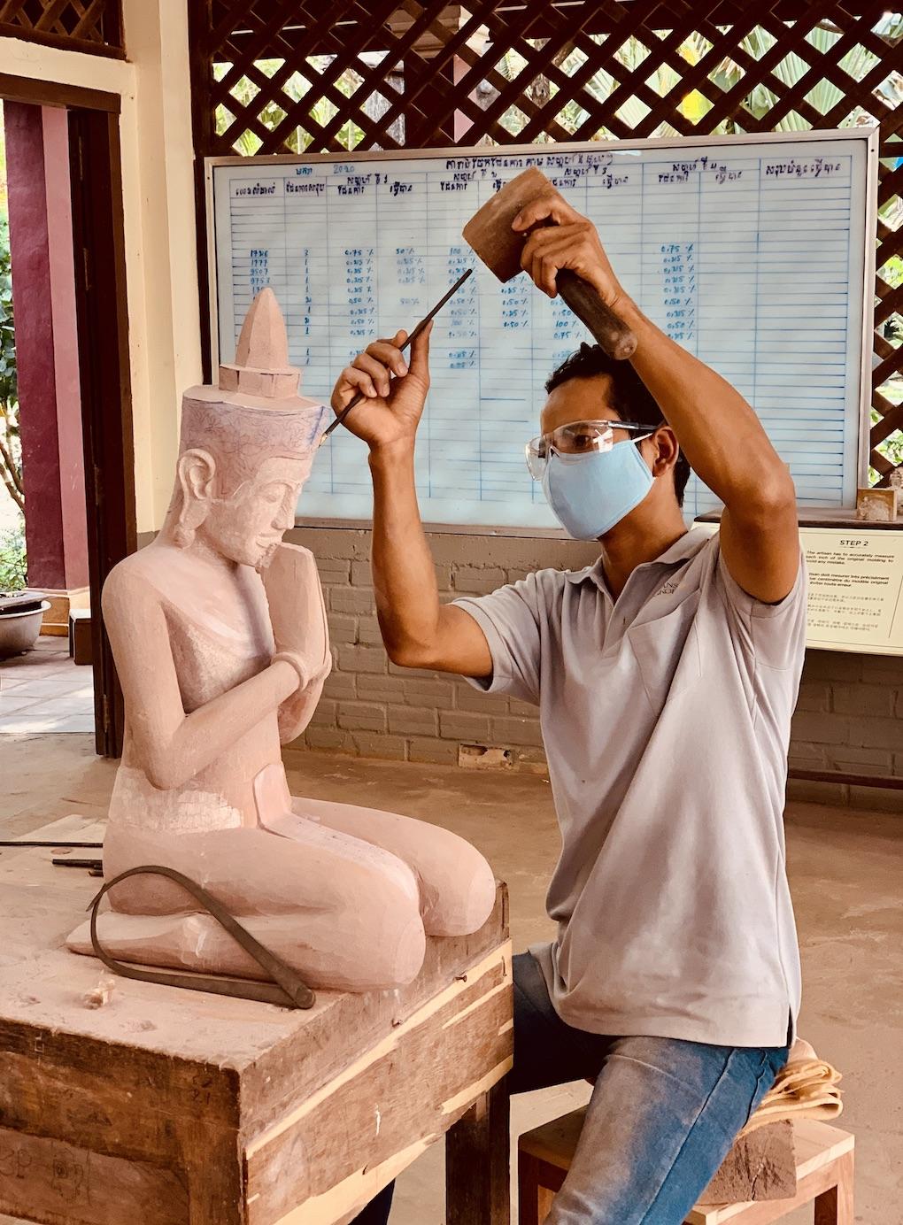 Artisans Angkor Cambodia.