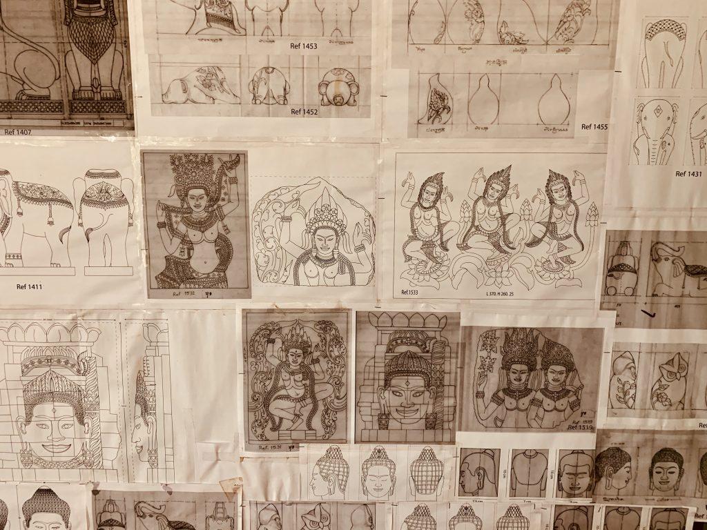 Artisans Angkor workshops Siem Reap.