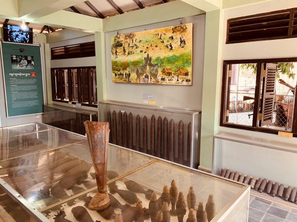 Cambodia Landmine Museum.