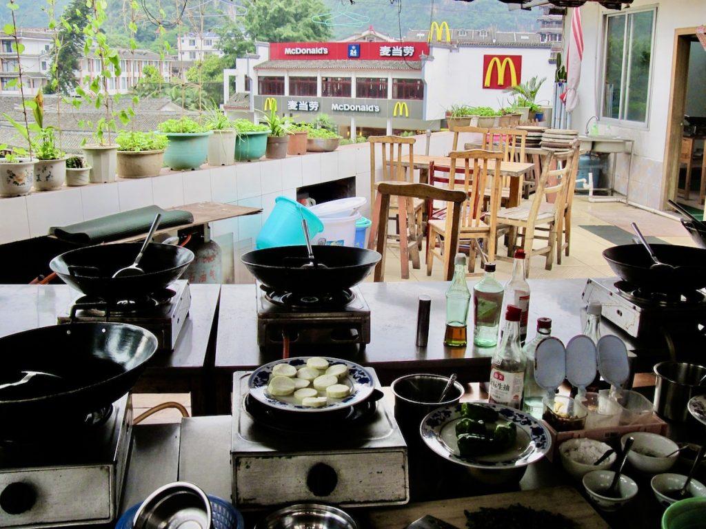 Cloud 9 Cooking School Yangshuo China.